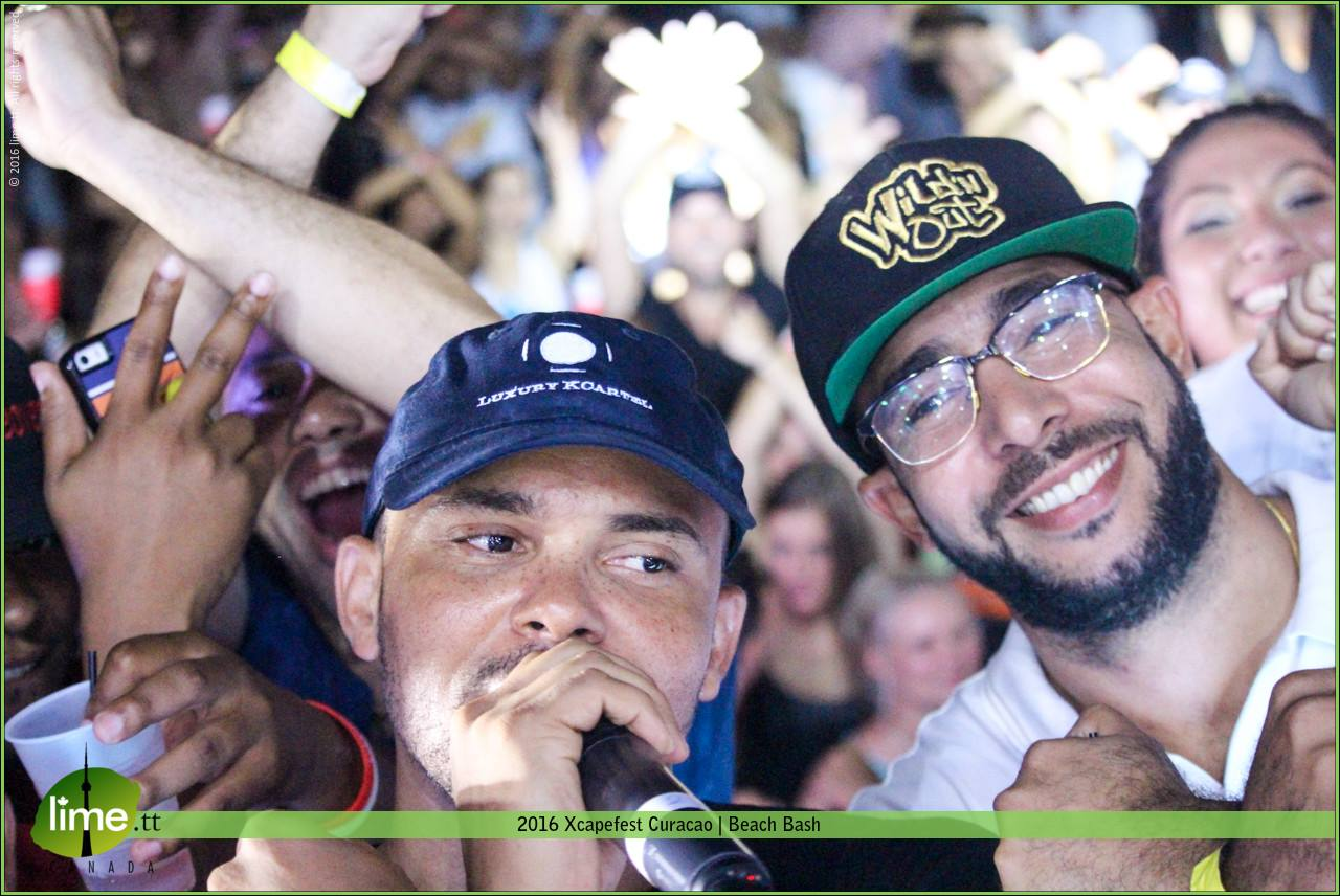 Walshy Fire of Major Lazer at Xcapefest 2016