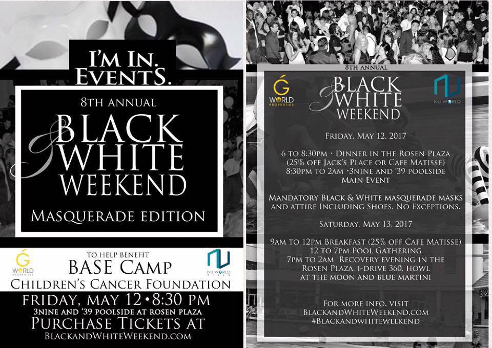 Black and White Weekend (Masquerade Edition)