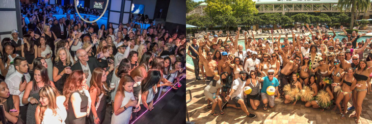 Main Masquerade Event Friday May 12, Pool Gathering Saturday May 13