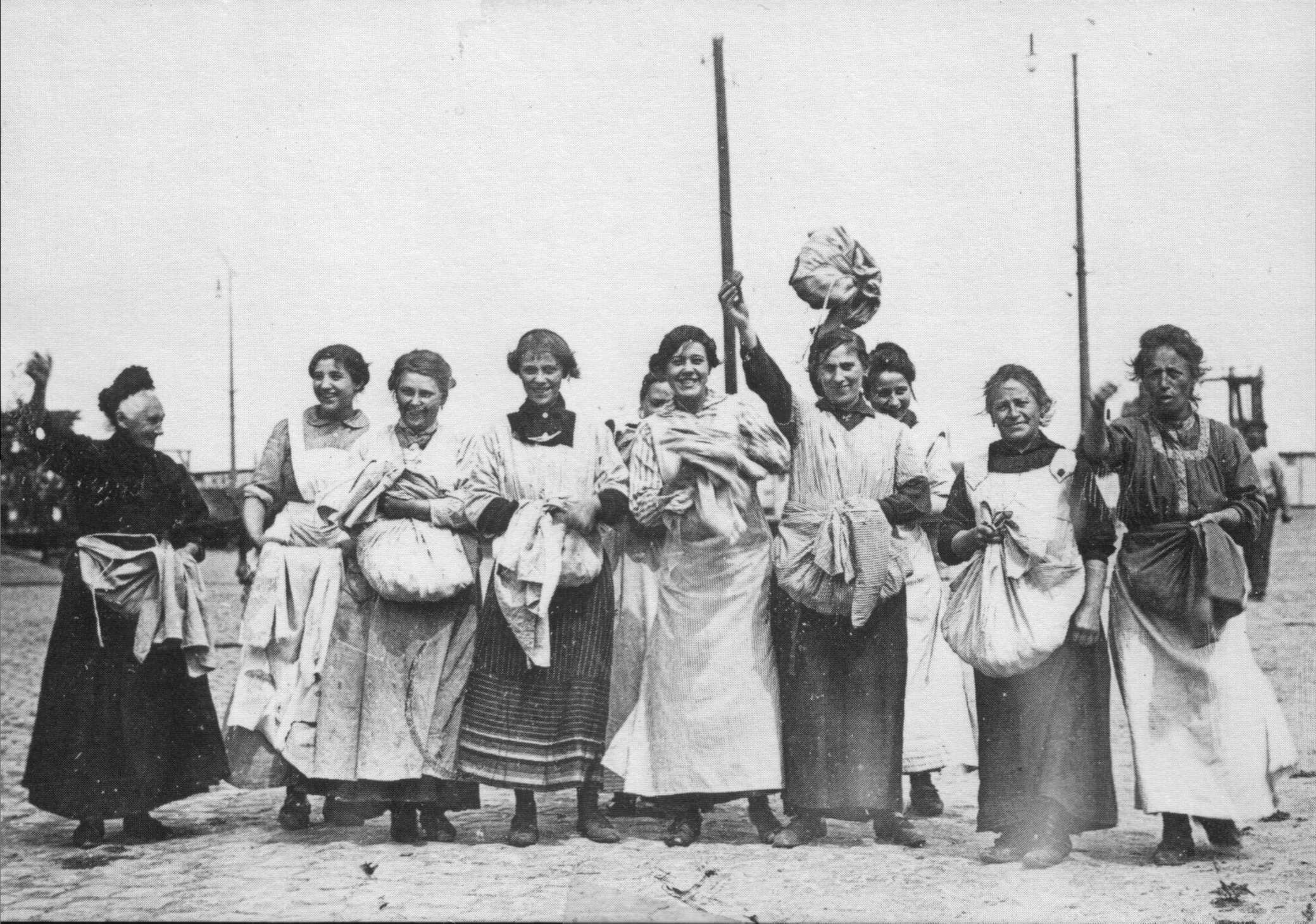 Vrouwen uit de Noord Jordaan, juli 1917