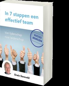 Download gratis het E-book In 7 stappen een effectief team