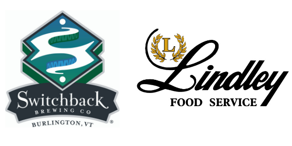 Switchback Brewing Company and Lindley Food Service Logos- March for Meals 2019 Title Sponsors
