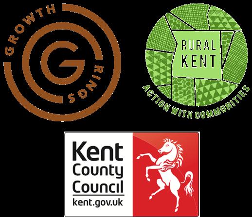 Growth Rings, Rural Kent & Kent County Council Logo's