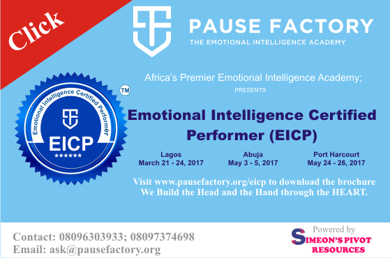 Emotional Intelligence Certified Performer March 2017