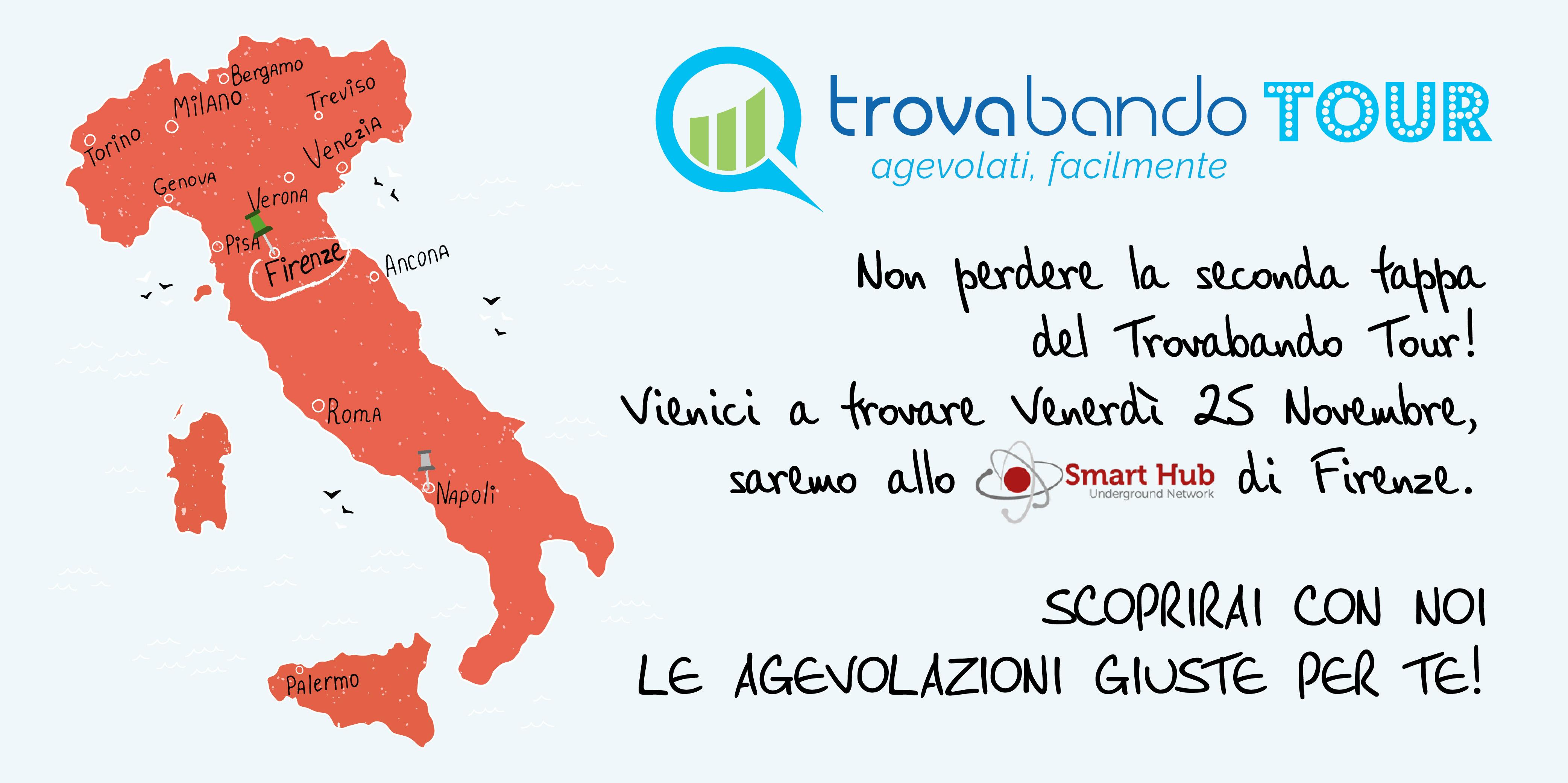 Seconda tappa del Trovabando Tour - Smart Hub Firenze