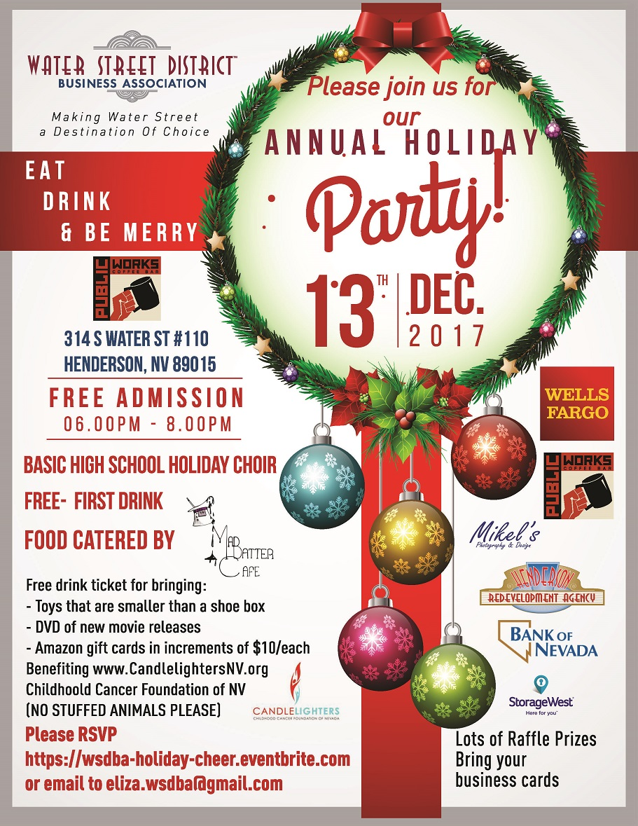 WSDBA Holiday Party Business MIxer