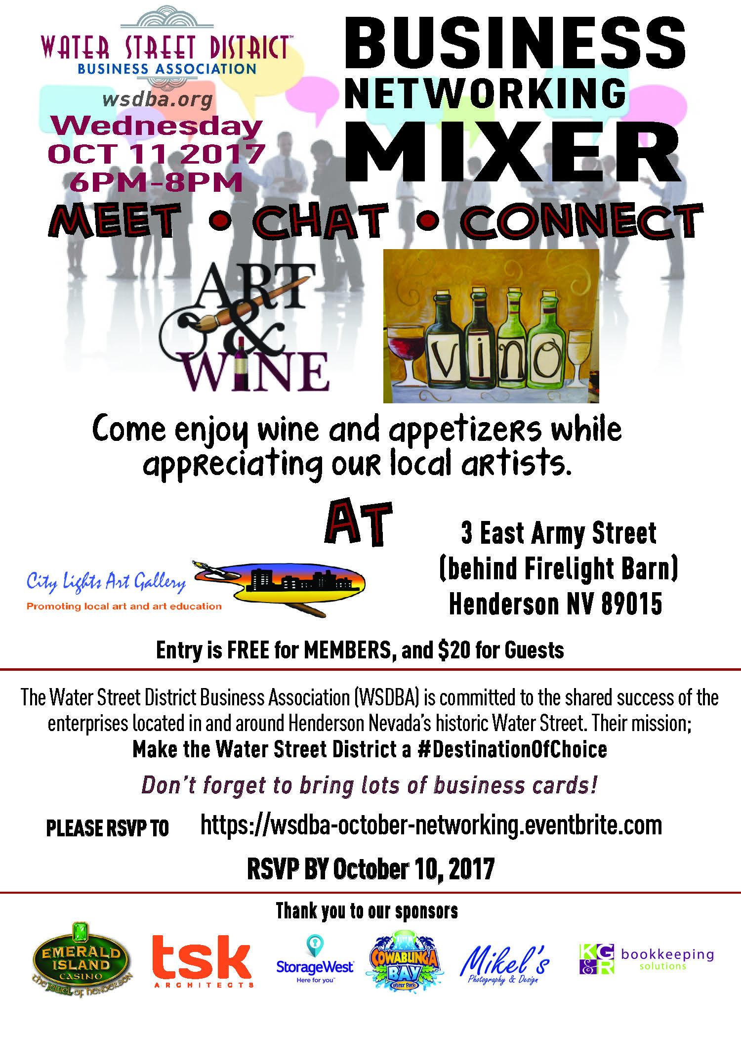 October Mixer