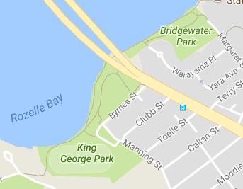 Bridgewater Park Map