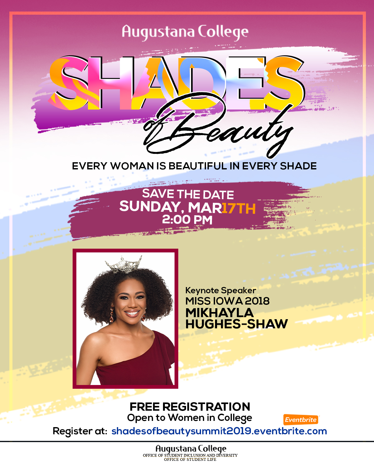 Save Date - Shades of Beauty 2019