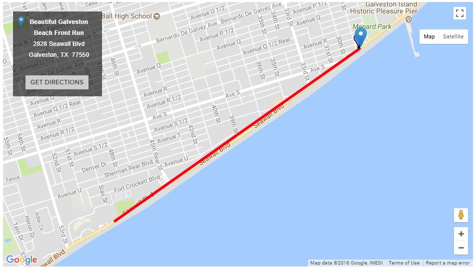 2018 Run Route - Starting at Beerfoot Brewery