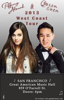 Tiffany Alvord & Jason Chen Spring Tour 2013 - SAN FRANCISCO