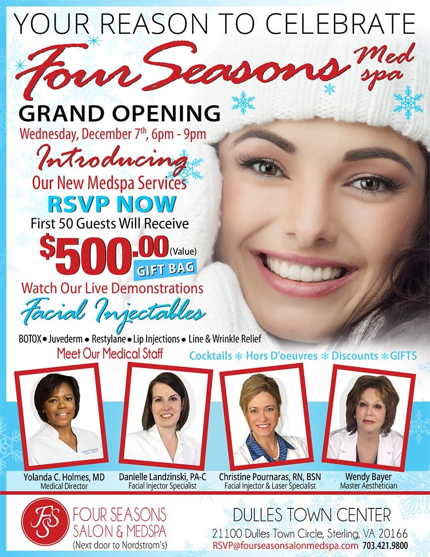 Grand Opening Four  Seasons Salon  Medpsa