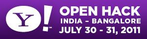 Yahoo! Open Hack India 2011 - Bangalore