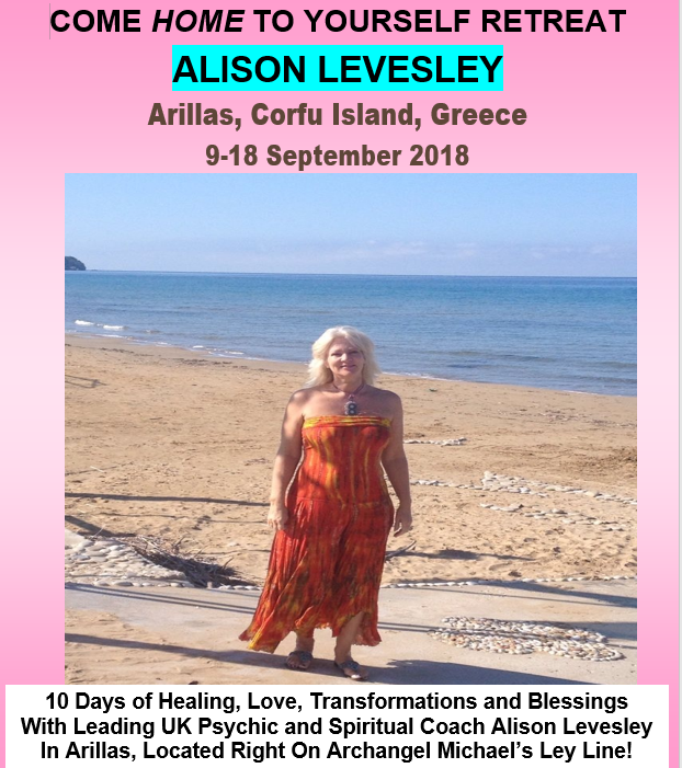 Greece Retreat Poster with Alison Levesley