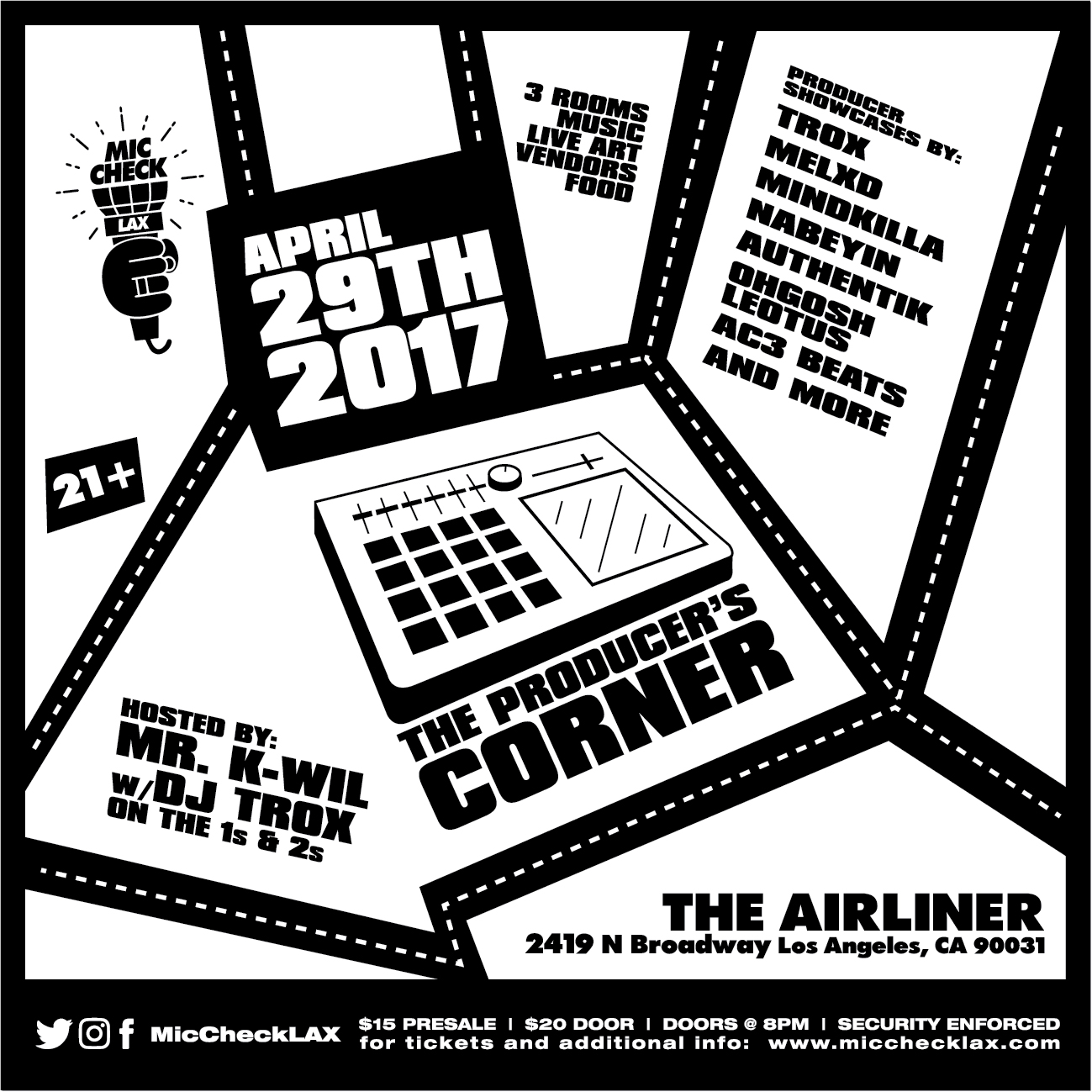 Mic Check LAX - Producer's Corner