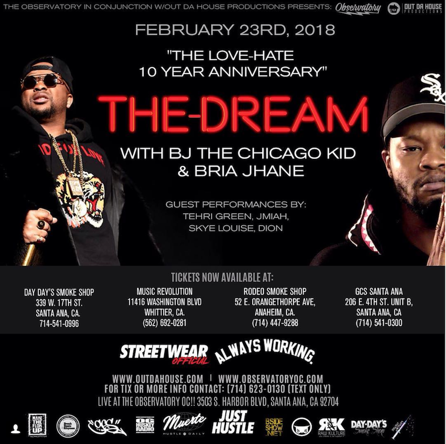The Dream - BJ The Chicago Kid Bria Jhane Deion Skye Louise_ObservatoryOC