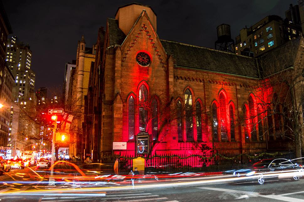 Calvary Church on Red Wednesday 2017