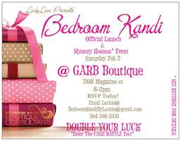 Bedroom Kandi Official Launch Party & Mystery Hostess Event