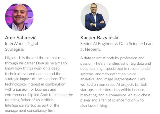 Speakers: Amir Sabirović, Kacper Bazyliński