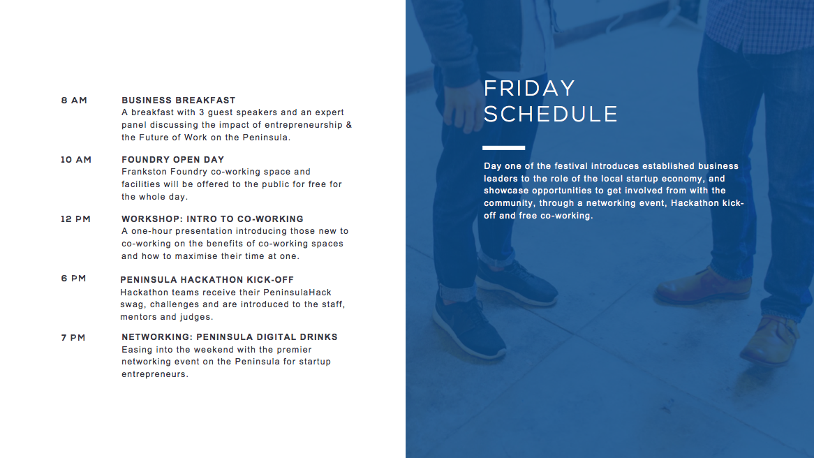 peninsulahack friday schedule
