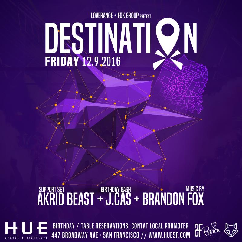 Destination Friday Dec 9th