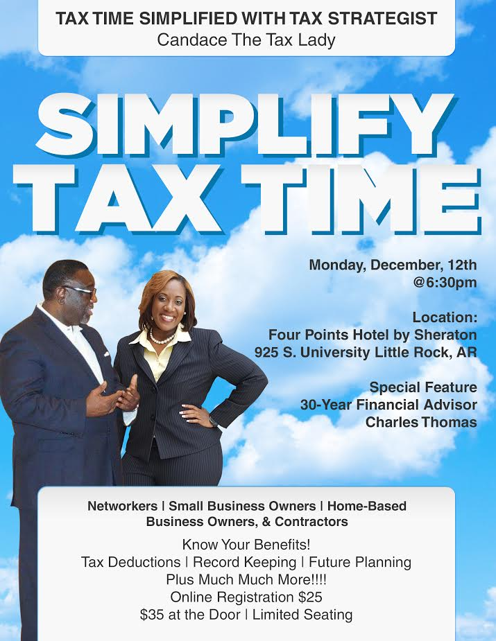 Tax Time Simplified Flyer