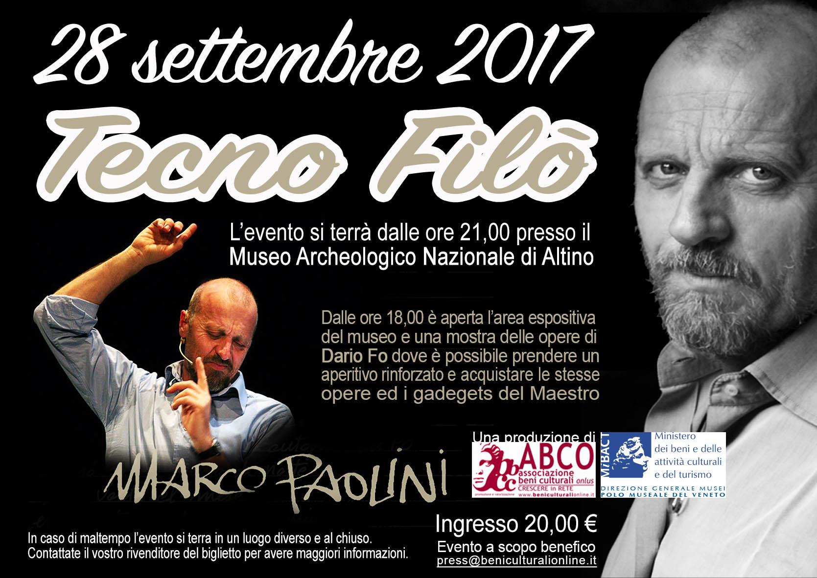 Marco Paolini ad Altino