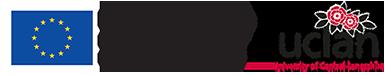 UCLan and ERDF Logos