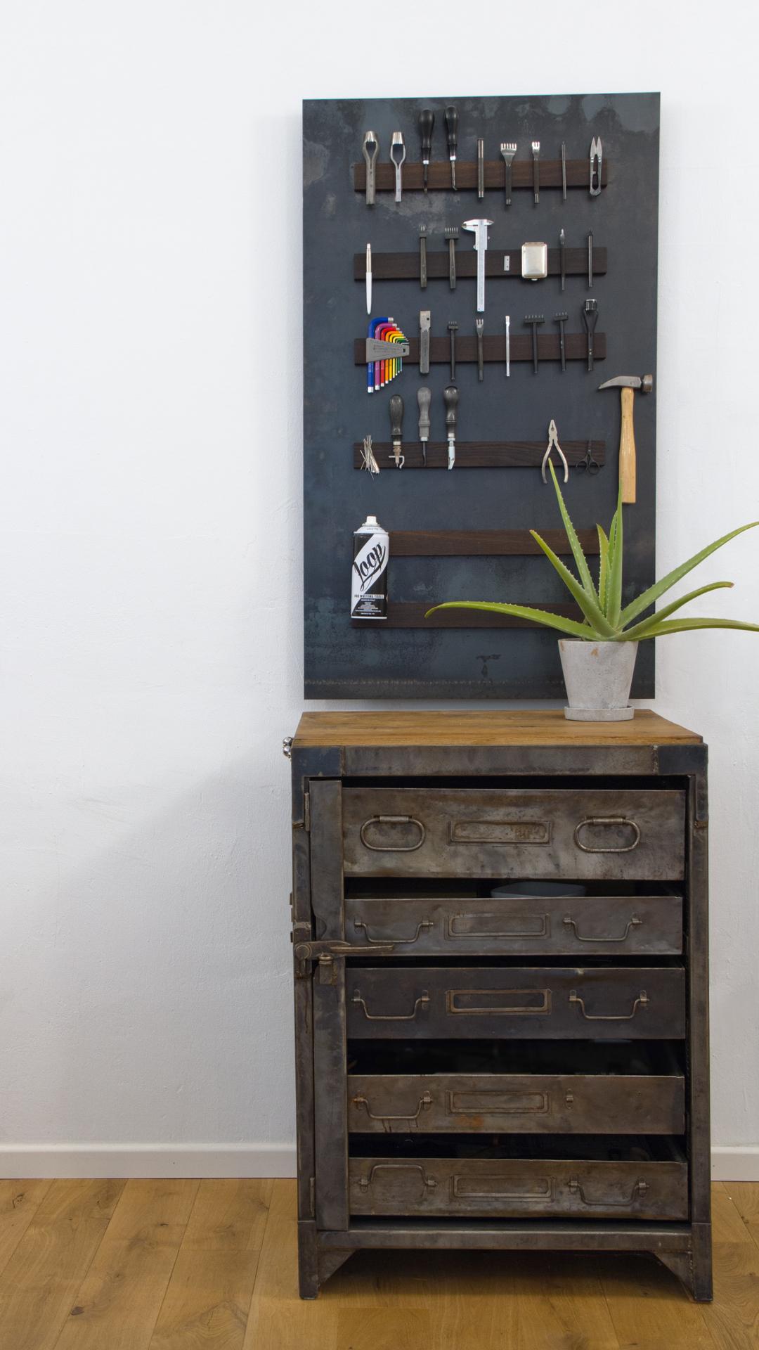 Werkzeugwand, Leder, Workshop, toolporn,