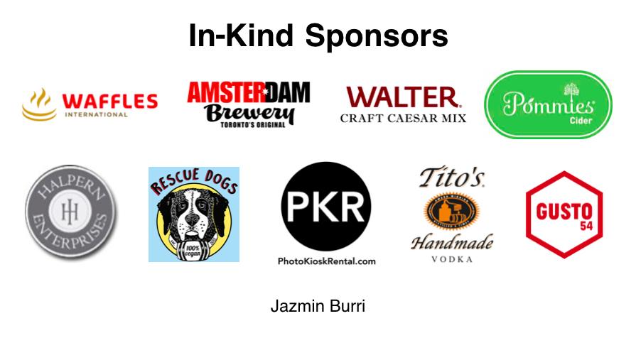 In-Kind Sponsors