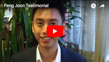 Peng Joon Testimonial