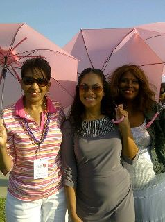 Michelle Moore Bell, Adai of KJLH and Diana Layne White