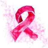 Pink Ribbon for Breast Health Awareness