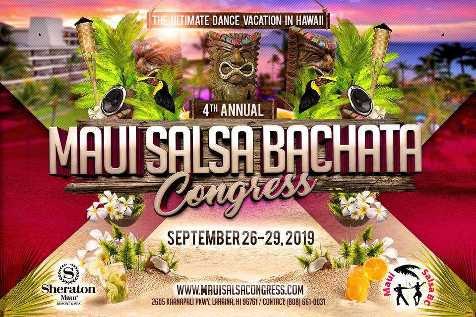 4th Annual Maui Salsa Bachata Congress