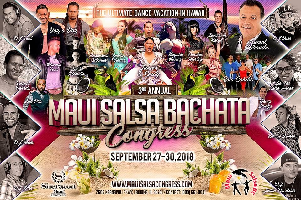 3rd Annual Maui Salsa Bachata Congress