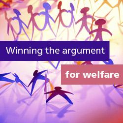 Winning the argument for welfare - banner