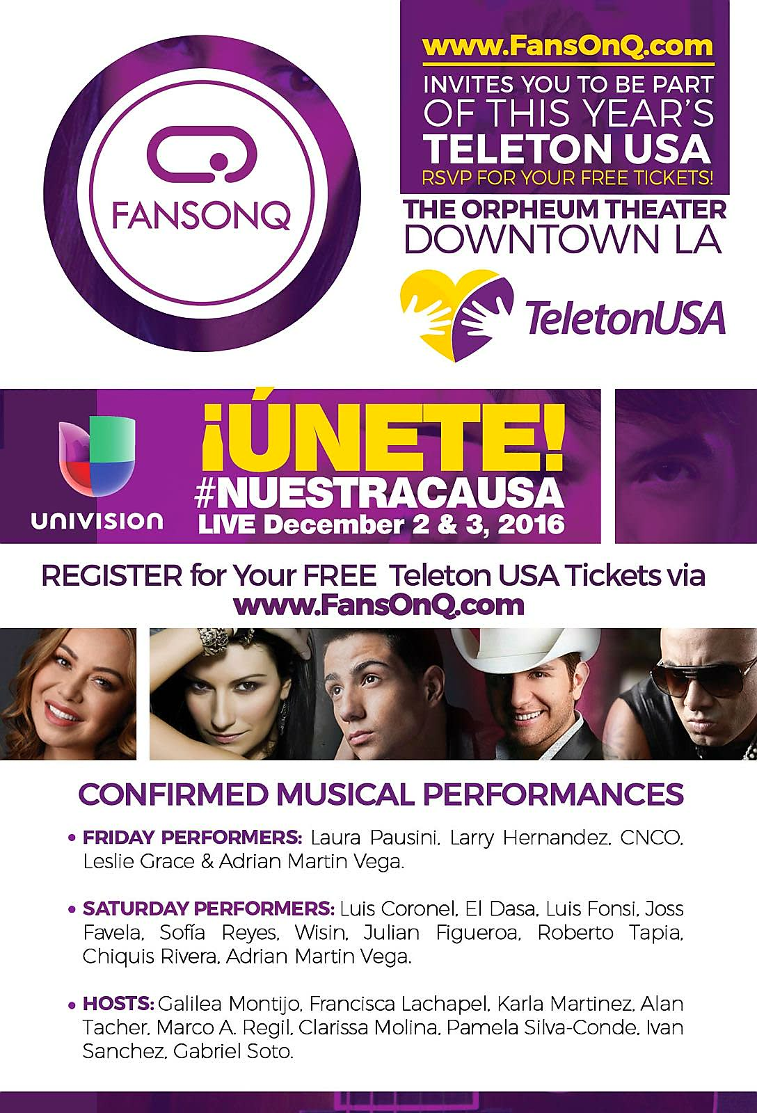 Teleton USA 2016 Los Angeles