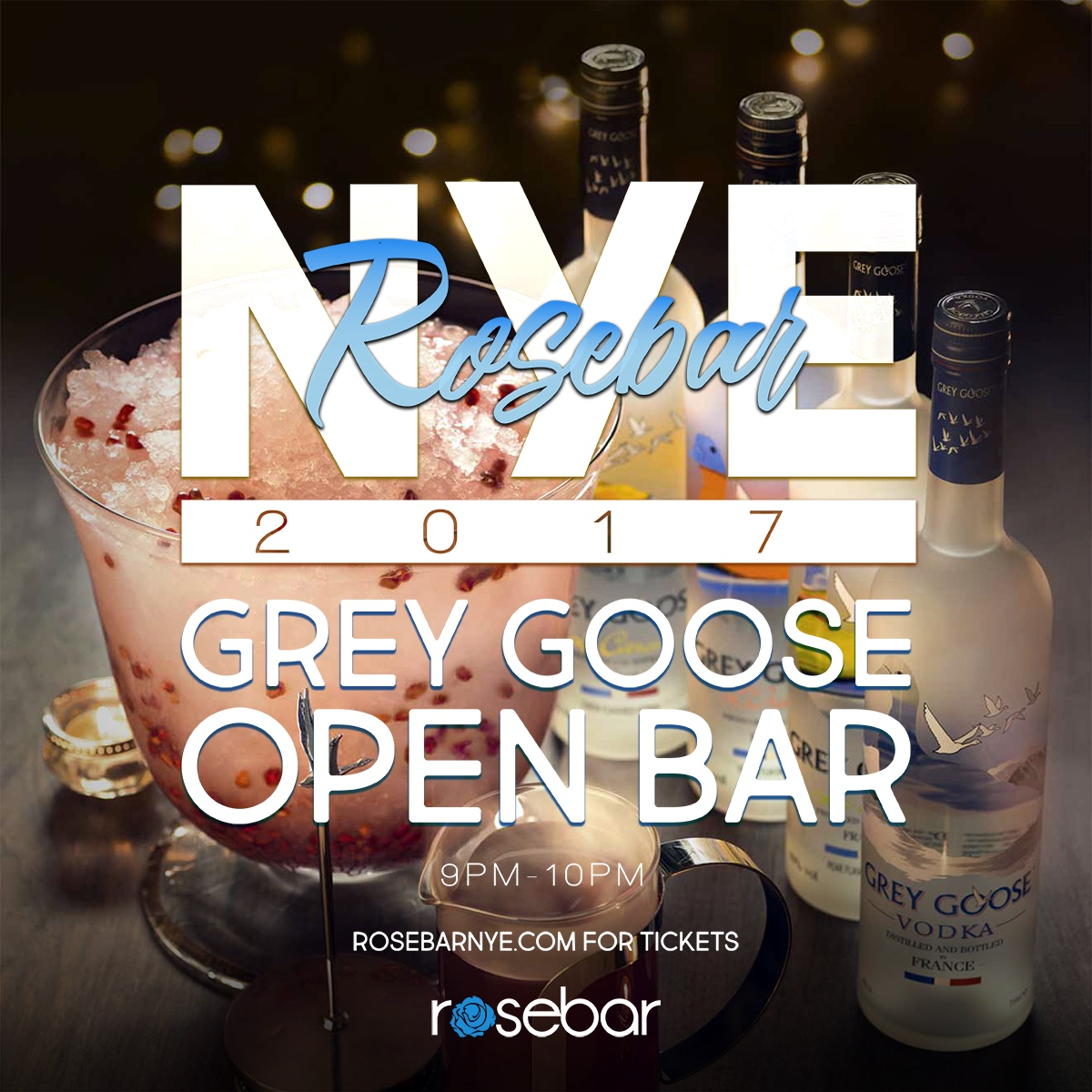 Grey Goose Open Bar