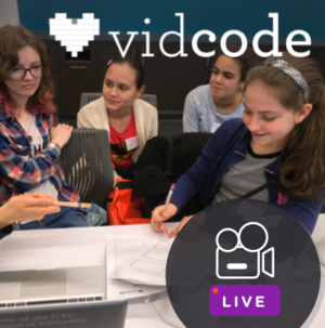 VidCode Hour of Code lesson