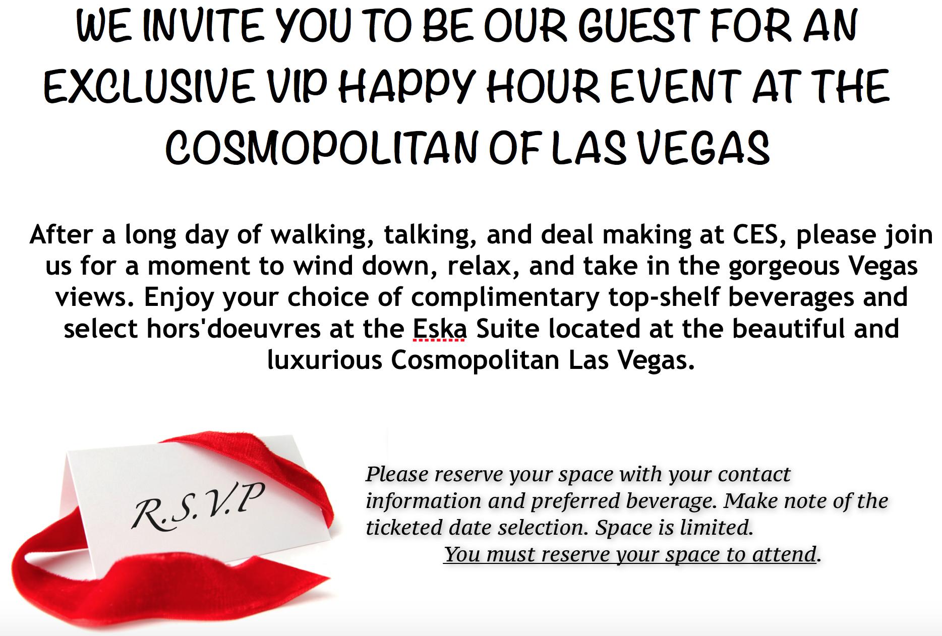 CES INVITATION