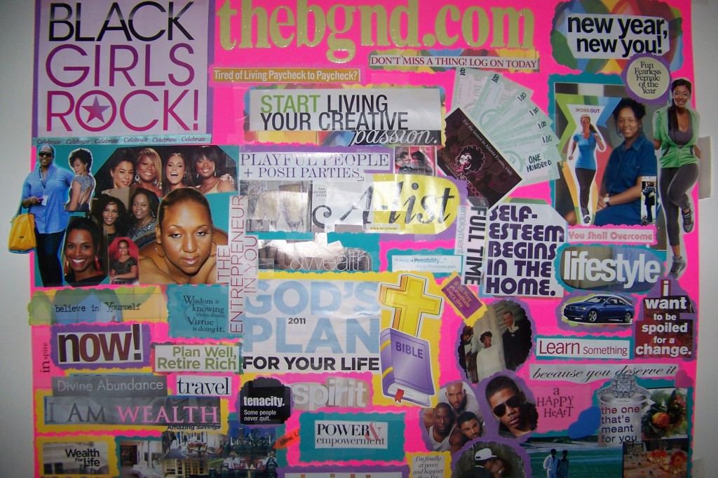 how to create a successful vision board