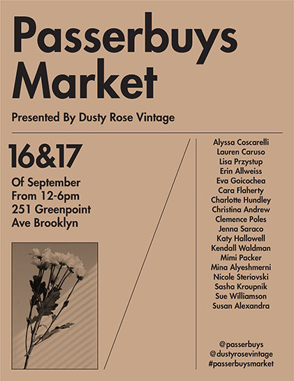 Passerbuys Market Flyer