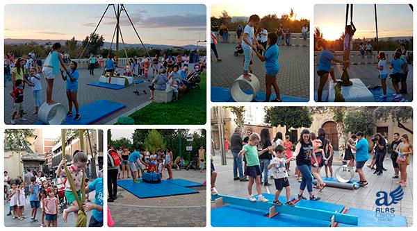 Taller Circo Alas II en Cortylandia Córdoba