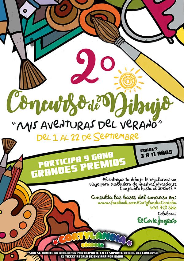 Concurso Dibujo Cortylandia 2018