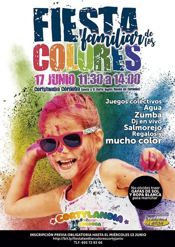 Fiesta Familiar de los Colores Corty Junio