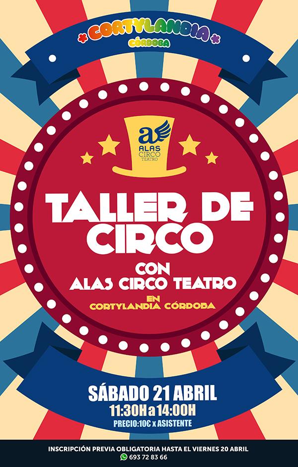 Taller Circo Alas en Cortylandia Córdoba