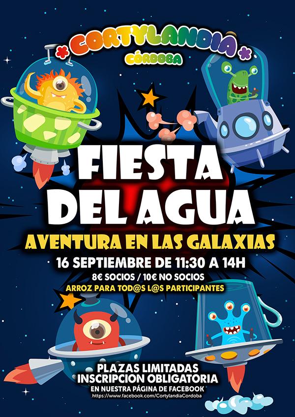 Fiesta del agua - Aventura en las galaxias
