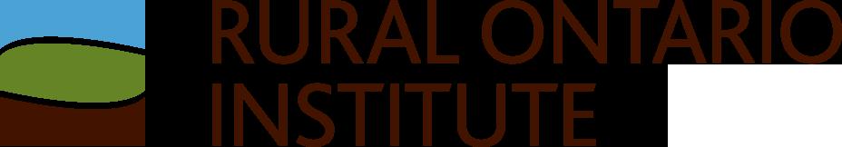 logo for Rural Ontario Institute