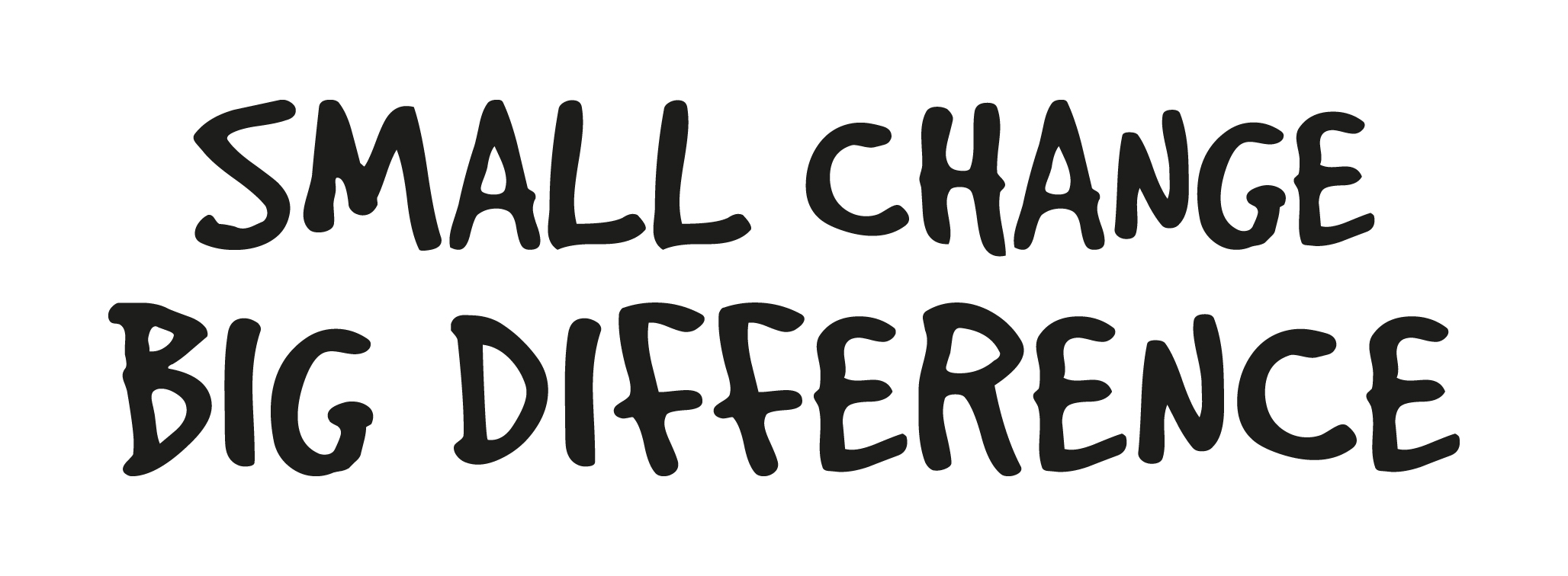small change big difference logo