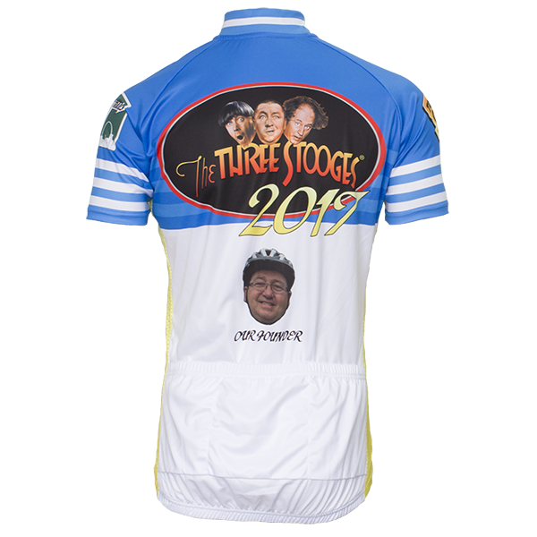 TdS Jersey Back View